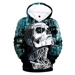 $enCountryForm.capitalKeyWord UK - Rick Genest Clothes 3D Print printing Zombie boy model Sweatshirt Women Men Hooded head Long sleeve Sweatshirt Maximum code 4XL