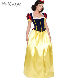 c3c85da699d6 ostume for women Plus Size Adult Snow White Costume Purim Carnival Halloween  Costumes for Women Fairy Tale Princess Cosplay Female Long D..
