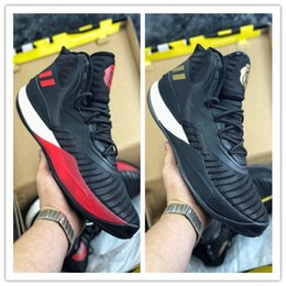 384a5bb5078b 2018 Top Quality Hot D-ROSE Basketball Shoes Mens Boots 8 VIII Black  Christmas Sneakers Derrick Rose Flame Sports Brand Size 40-45