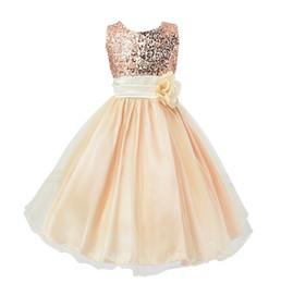 $enCountryForm.capitalKeyWord UK - Small flower girl dresses and children sequined bow skirt gauze dress Princess children