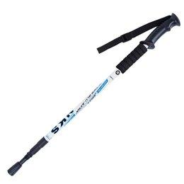 Опт Ручка на открытом воздухе треккинг 3 совместный поход полюс из алюминиевого сплава нордическая трость телескопическая палка туристическое снаряжение