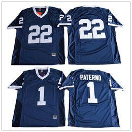 Penn State Nittany Lions College Football 1 Joe Paterno 22 Akeel Lynch BIG  Ten Football Jerseys 21a805ed8