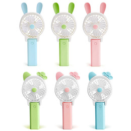 rotate usb 2019 - Portable Folding Fan Mini USB Rechargeable Fan Removable Rotating Handheld Outdoor Fans Pocket Fans Summer Air Cooler Ki