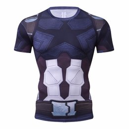 $enCountryForm.capitalKeyWord UK - Infinity War Compression Shirt 3D Printed T shirts Men 2018 Cosplay Costume Short Sleeve Tops For Male