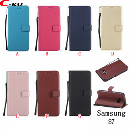 samsung j7 prime leather flip cover UK - Sheep Wallet Leather Case For Samsung Galaxy J4 J6 S9 S7 EDGE S8 PLUS NOTE8 A8 A7 2018 A5 J3 2017 J5 J7 Prime Flip Strap Stand ID Skin Cover
