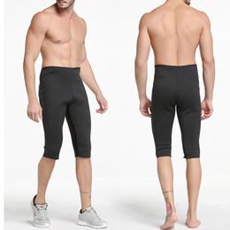 $enCountryForm.capitalKeyWord NZ - Men's Hot Thermo Neoprene Sweat Sauna Body Shaper shorts Hot Shapers Plus-Size Weight Loss Compression Slimming Slim Shorts 2018