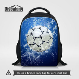 2274bd4e7b40 Mini Size Kids Backpack For Kindergarten Cool Basketball Football Printing School  Bags For Boys Children Fashion Soccer Pattern Bookbag Pack