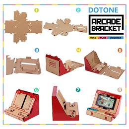 XboX game holder online shopping - Foldable Stand Origami Labo DIY Cardboard Creations Game Holder Kit Toys for NS Switch Paper Arcade Bracket