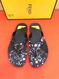 927f142022ae11 New flip flops 207503 Men Slippers Slippers Drivers Sandals Slides Sneakers  Princetown Leather Slipper Real leather Shoes