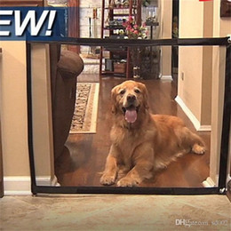 safety gates 2018 - Dog Isolation Network Magic Gate Foldable Safe Guard Pet Supplies Fence Obstacle Security Safety Protect Enclosure Items