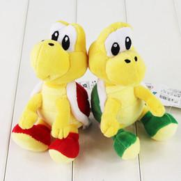$enCountryForm.capitalKeyWord Canada - 16cm Super Mario Bros Paratroopa Plush Toy Koopa Troopa Soft Stuffed Plush Doll for Kids gift Free Shipping Retail