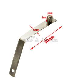 50 teile / los 6mm / 8mm / 9mm / 10mm Kajakpaddel Zelt Pole Push Solid Button Frühling Snap Clips Verriegelung Rohr Einzelnen Pin