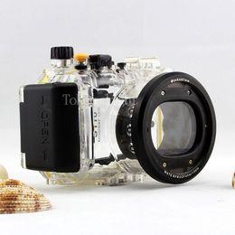 $enCountryForm.capitalKeyWord Australia - 40 meters 130ft Underwater Waterproof Housing Diving Camera Case Bag for Canon S110 Camera