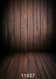 background paintings NZ - wooden door Wooden wall 5X7ft fotografica backdrops vinyl cloth photography backgrounds wedding children baby backdrop for photo studio 027