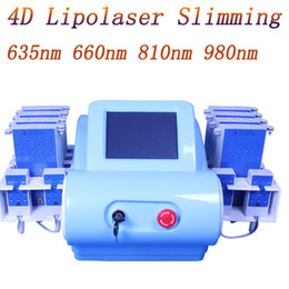 Laser 635nm online shopping - professional nm nm nm nm portable diode lipolaser lipo laser non invasive pads lipo laser slimming machine fat burning