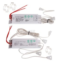 Electronic Fluorescent NZ - T8 Electronic Ballasts 18W-36W Universal 220V 50Hz For Neon Lamp Ballast Fluorescent Lamps Rectifier Mar Dropship