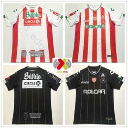 ebc58422465 2018 2019 LIGA MX Club Necaxa Soccer Jersey Home Red Away Road White  Jerseys 18 19 Thailand Quality Customize Adult Football Shirt