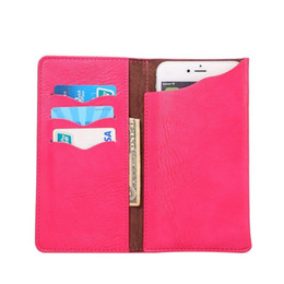 Chinese  Universal Elephant Pattern PU Leather Wallet Sleeve Pouch Case for Elephone Vowney S2 Plus M2 manufacturers