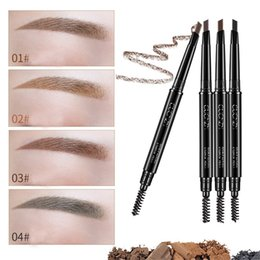 $enCountryForm.capitalKeyWord NZ - 1pcs 4Color Waterproof Natural Longlasting Make Up Brown Eyebrow Pencil Eye Brow Liner Professional Eyebrow Pencil Comestic Tool