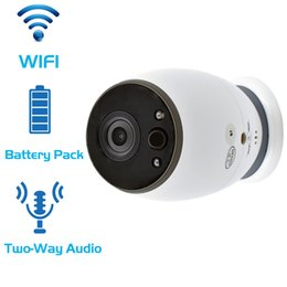 Indoor Hd Cctv Camera Australia - CCTV Battery WiFi IP Camera HD 720P Mini Wireless Video Baby Monitor P2P Indoor Security Smart ip camera IR Night Vision camera