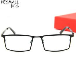 c66ab204b9b KESMALL 2018 Square Eyeglasses Business Glasses Titanium Glasses Frame  Woman Frames Optical Men Women Oculos BY160