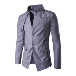Chinese  Plus Size XS-XXL 2018 New Fashion Men's Dress Suit Classic Casual Man Suits Slim Fit Blazer Gentle Stylish Men's Suit Jackets manufacturers