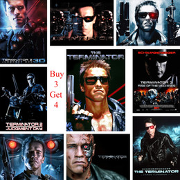 f32e35e70a High Definition Light NZ - The Terminator Posters Movie Wall Stickers White  Coated Paper Prints High