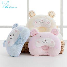 Cartoon Memory NZ - Kalameng 2018 Spring Baby Stereotypes Pillow Newborn Baby Pillow Anti-head Kindergarten Cartoon Pillows