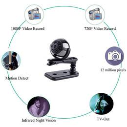 Portable Car Video Recorder NZ - Mini Portable DV Nanny Cam 1080P HD Car DVR IR Night Vision Video Recorder Indoor Outdoor Security Sureillance Camera Motion Activated DVR