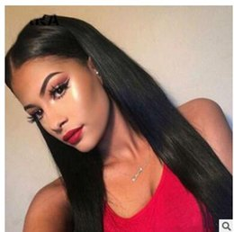 European Wigs Sale NZ - 2018 cross border for black wig hair type long straight hair black wig European and American wig sets wholesale manufacturers direct sale