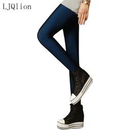 1b020b97a1 Ljqlion marca 2017 mulheres leggings moda alta esticada leggins de fitness  legins clothing ballet calças de dança jeggings