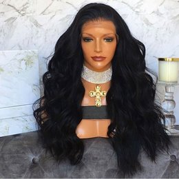 $enCountryForm.capitalKeyWord Canada - 8A Soft Brazilian Virgin Human Hair Glueless Full Lace Human Hair Wigs For Black Women Ombre Wavy Lace Front Wigs with Baby Hair