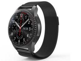 Milanese Loop For Gear Australia - 18MM 20MM 22MM Watchband for Samsung Gear Sport S3 S2 Classic Huami Amazfit Bip Magnetic Bracelet Milanese Loop for Huawei Watch