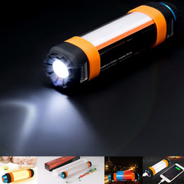 Discount lamps for charging phones - Usb rechargeable led torch lamp SOS phone charging portable mini flashlights with mosquito repellent 5200mAh for outdoor