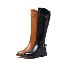 $enCountryForm.capitalKeyWord UK - Fashion Womens Knee High Boots Ladies Square Heel Zip Buckle Knee Boots UKB883 US UK EUR Size Customized