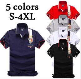 Venta al por mayor de 2018 Nuevos Hombres Impreso Polo Camisas de Manga Corta Air Force One Polo Stand Collar Polo Masculino S-4XL