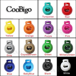$enCountryForm.capitalKeyWord NZ - 10pcs Pack Colorful Ball Cord Lock Ends Stop Round Toggle Clip Stopper Cloth Sportwear Boots Lace Accessories#FLS046(Mix-s)