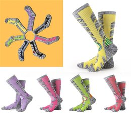 Rugby Socks Canada - Socks 86.1% Cotton Hiking Socks Outdoor Women & Men Sports Socks For Boarding Skiing Autumn Winter New Style Thick towel bottom Sock G490Q