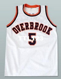 $enCountryForm.capitalKeyWord UK - Free shipping White Men #5 Wilt Chamberlain Overbrook College jersey Size S-4XL or custom any name or number jersey