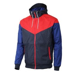 China Hot Sale Men Spring Autumn Windrunner Jacket Thin Jacket Coat Men Sports Windbreaker Casual Panelled Coats Male Tracksuit Free Shipping cheap windbreaker jacket spring suppliers