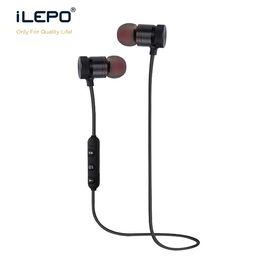 $enCountryForm.capitalKeyWord NZ - M9 Bluetooth Headphones magnetic metal wireless Running Sport Earphones Earset With Mic MP3 Earbud BT For iphone Samsung LG Smartphone