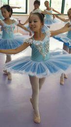 Discount gymnastic clothes - Girls Summer Ballet Gymnastics Leotard Tutu Dance Costume Disfraz Infantil Ballerina Dress Kids Cheap Ballet Clothes Chi