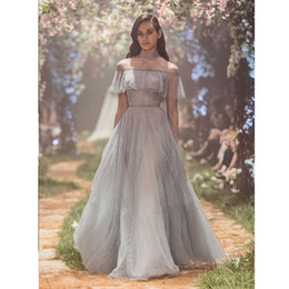 2018 Paolo Sebastian Sequined Prom Dresses Sheer High Neck Beaded Evening  Gowns With Long Sleeves Vestidos De Fiesta A Line Formal Dress b08f6aff8