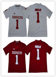 2018 New NCAA Oklahoma Sooners  1 Kyler Murray  6 Baker Mayfield Limited  Stitched College Football Jerseys 9d140d75d