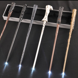 Wholesales Cosplay 35cm Harry Potter Wand Magic Props Hogwarts Harry Potter Series Magic Wand Harry Potter Magical Wand With Gift Box from free magic illusions manufacturers