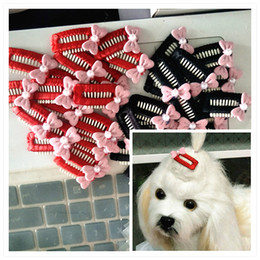 $enCountryForm.capitalKeyWord Australia - 2018 New 3.2cm Pet BB Small pearl bow hair clip Grooming Accessories Dogs Gift Dog Cat Hair Hairpin pet Products