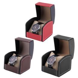 Discount watch case storage organizer - Luxury Watch Box Display Case Boxes Watches Jewelry Leather Storage Holder Organizer Box Professional caixa para relogio
