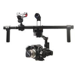 camera mount gimbal 2019 - HG3D Universal Handheld 3-axis Brushless Gimbal Handheld Camera Mount Stabilizer Compatible with GH3 GH4 NEX5 A5000 6000