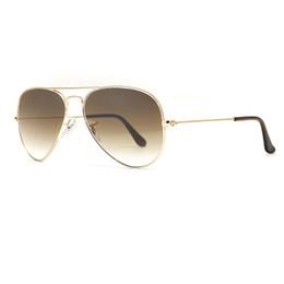 Hot pilot glasses online shopping - Hot Sale Gafas Gradient Gray Blue Brown Style Mirror glass Sun Glasse oculos de sol FEMININO UV380 Men Women Sunglasses mm mm with case