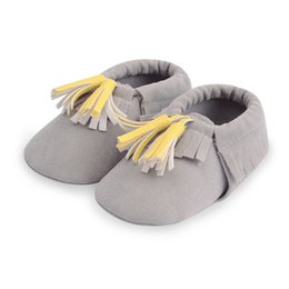 ce5baf3cfc78b Newborn Baby Infant Toddler First Walkers Fringe Classic Infant Baby Shoes  Sneakers Moccasins Soft Moccs